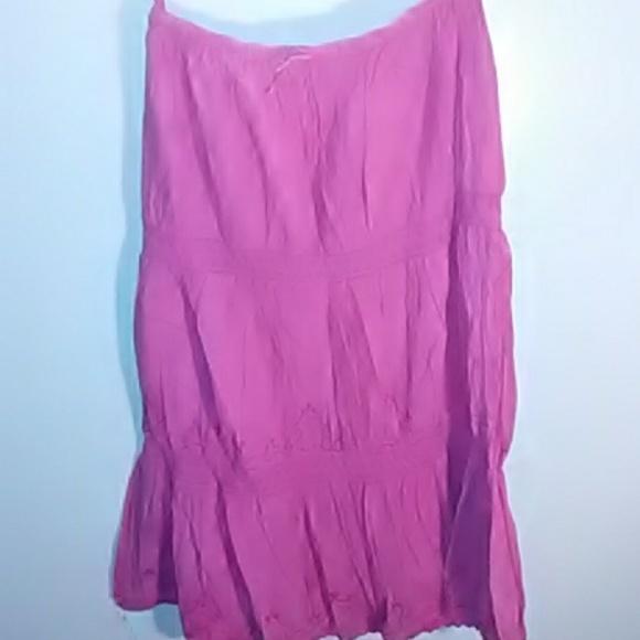 QN Dresses & Skirts - Womens boho long skirt size 1x